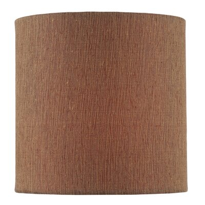 5 Fabric Drum Candelabra Shade Color: Mocha
