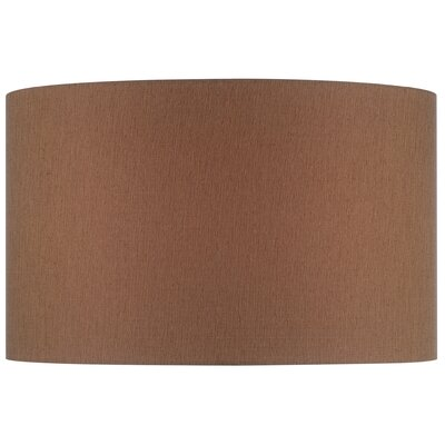18 Fabric Drum Lamp Shade Color: Beige