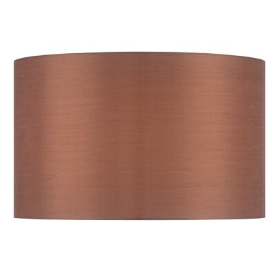 18 Fabric Drum Lamp Shade Color: Gold