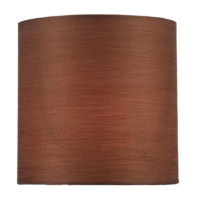 5 Fabric Drum Candelabra Shade Color: Brown