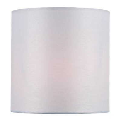5 Fabric Drum Candelabra Shade Color: White