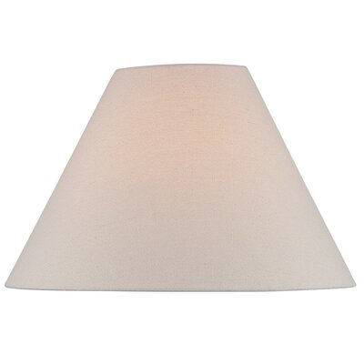 16 Linen Empire Lamp Shade Color: Beige