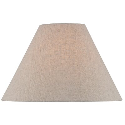 16 Linen Empire Lamp Shade Color: Brown