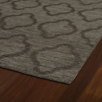 Dobson Chocolate Geometric Area Rug Rug Size: Runner 26 x 8