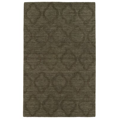 Dobson Chocolate Geometric Area Rug Rug Size: Rectangle 36 x 56
