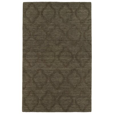 Dobson Chocolate Geometric Area Rug Rug Size: 5 x 8