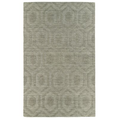 Dobson Light Brown Geometric Area Rug Rug Size: Rectangle 36 x 56