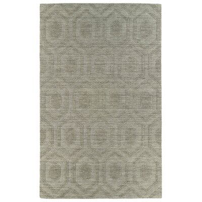 Dobson Light Brown Geometric Area Rug Rug Size: 36 x 56