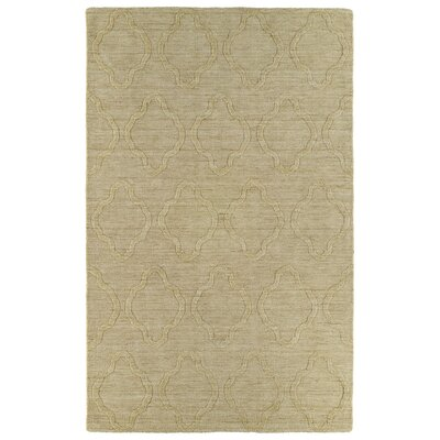Dobson Yellow Geometric Area Rug Rug Size: 36 x 56