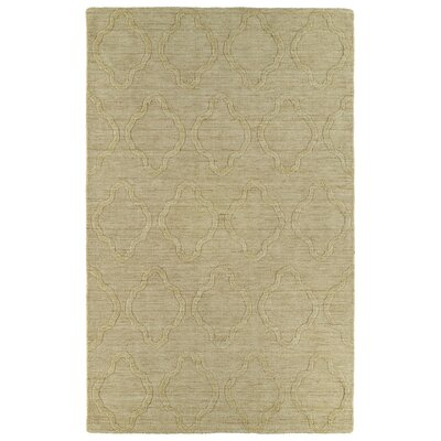 Cassie Yellow Geometric Area Rug Rug Size: 96 x 136