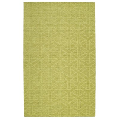 Dobson Handmade Wasabi Area Rug Rug Size: Rectangle 36 x 56