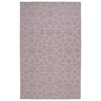 Dobson Handmade Lilac Area Rug Rug Size: Rectangle 96 x 136