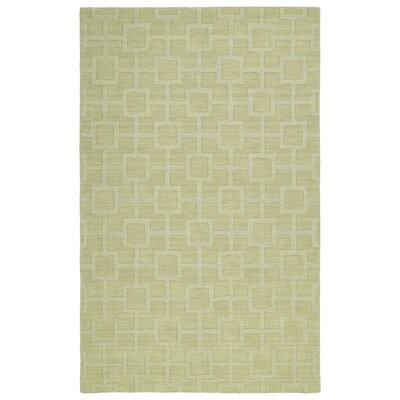 Dobson Handmade Celery Area Rug Rug Size: Rectangle 96 x 136