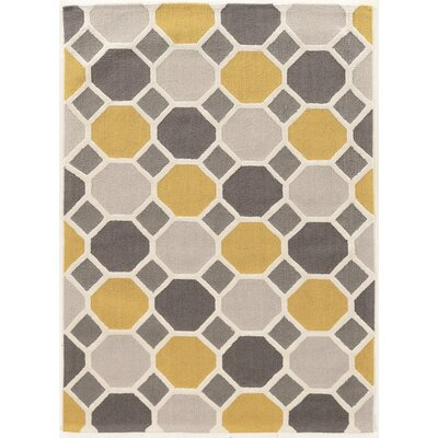 Cozine Hand-Tufted Area Rug Rug Size: Rectangle 5 x 7