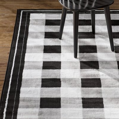 Glenn Black Area Rug