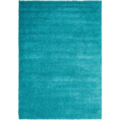 Shibata Turquoise Area Rug Rug Size: Rectangle 32 x 5