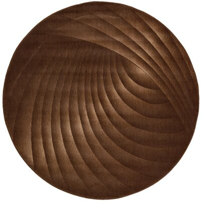 Patrica Chocolate Rug Rug Size: Round 56