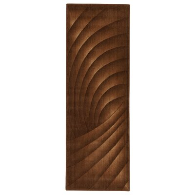 Patrica Chocolate Rug Rug Size: Runner 23 x 8