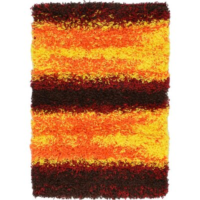 Suzanne Yellow/Red/Orange Area Rug Rug Size: 22 x 3