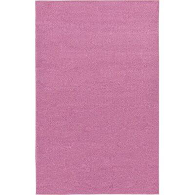 Hugh Purple Area Rug Rug Size: 67 x 9