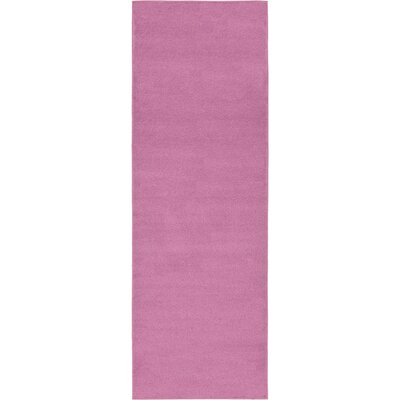 Hugh Purple Area Rug Rug Size: Runner 33 x 910