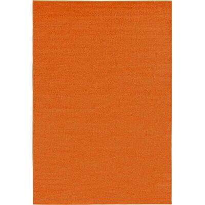 Hugh Terracotta Area Rug Rug Size: 7 x 10
