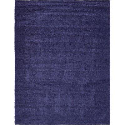 Sydnee Navy Blue Area Rug Rug Size: 10 x 13