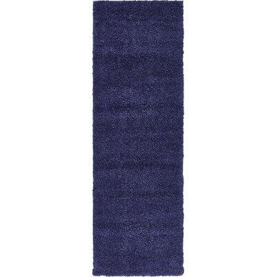 Sydnee Navy Blue Area Rug Rug Size: Runner 2'2