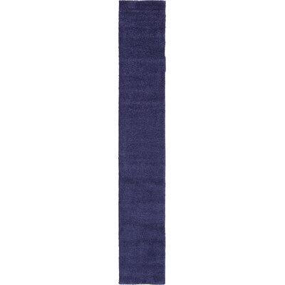 Sydnee Navy Blue Area Rug Rug Size: Runner 22 x 13