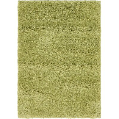 Sydnee Light Green Area Rug Rug Size: Round 8