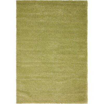 Sydnee Light Green Area Rug Rug Size: 5 x 77