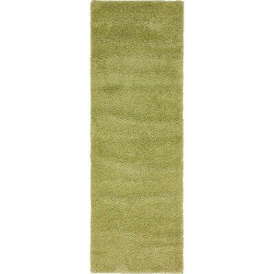 Sydnee Light Green Area Rug Rug Size: Runner 22 x 67