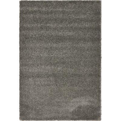 Sydnee Gray Area Rug Rug Size: 5 x 77