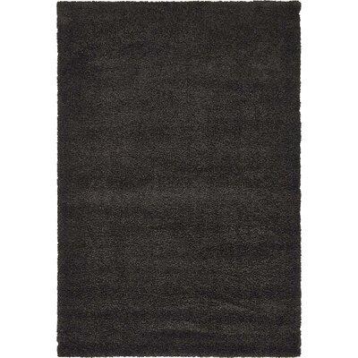 Sydnee Charcoal Area Rug Rug Size: 5' x 7'7