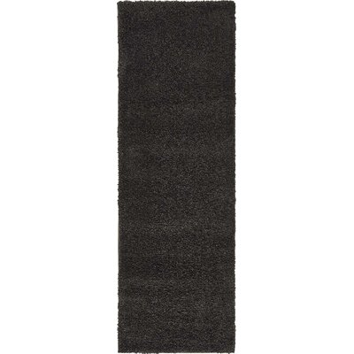 Sydnee Charcoal Area Rug Rug Size: Runner 2'2