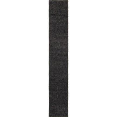 Sydnee Charcoal Area Rug Rug Size: Runner 22 x 13