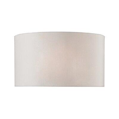 15 Faux Silk Drum Lamp Shade
