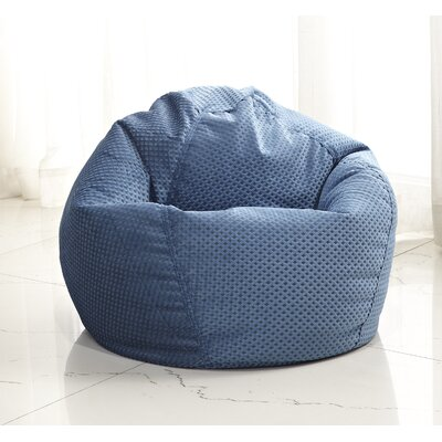 Medium Bean Bag Chair Color: Blue