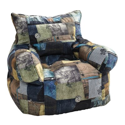 Print Medium Bean Bag Chair