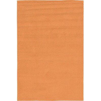 Goldie Orange Area Rug Rug Size: 67 x 910