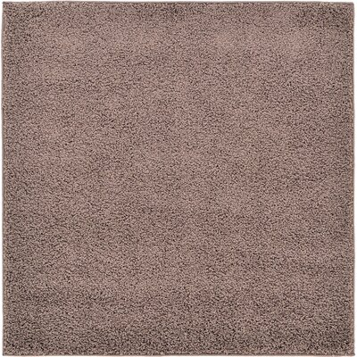 Goldie Brown Area Rug Rug Size: Square 4