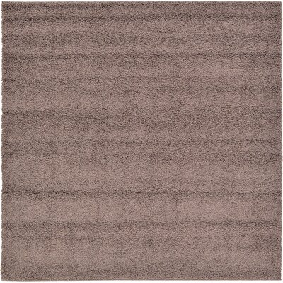 Goldie Brown Area Rug Rug Size: Square 6