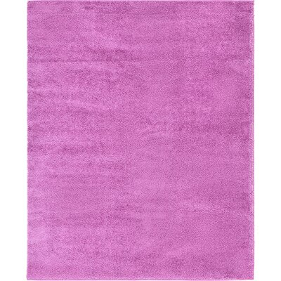 Goldie Light Violet Area Rug Rug Size: 9 x 12