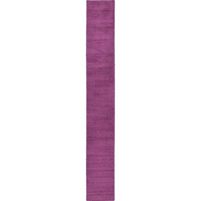 Maxine Purple Area Rug Rug Size: Runner 27 x 198