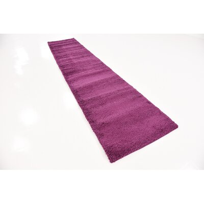 Maxine Purple Area Rug Rug Size: Runner 27 x 95