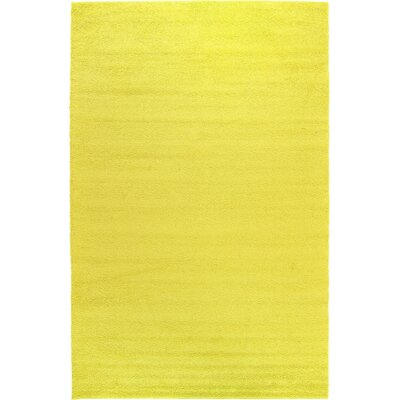 Goldie Yellow Area Rug Rug Size: 106 x 165