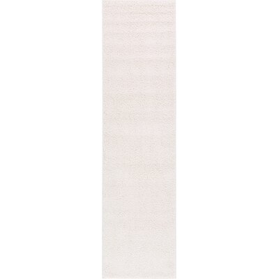 Goldie Ivory Area Rug Rug Size: Runner 27 x 10