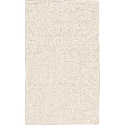 Goldie Beige Area Rug Rug Size: 67 x 82