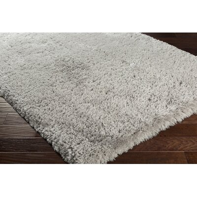 Francisco Silver Gray Area Rug Rug Size: Rectangle 4 x 6