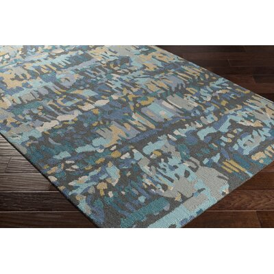 Detroit Hand-Tufted Gray Area Rug Rug Size: 2 x 3